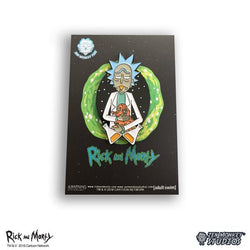 Rick and Morty Lonely Rick Enamel Pin