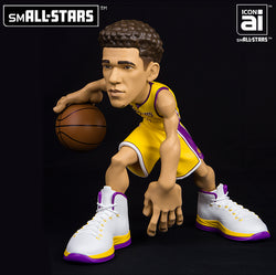 IconAI Small-Stars NBA Los Angeles Lakers Lonzo Ball 2017-2018 Icon Edition Figure