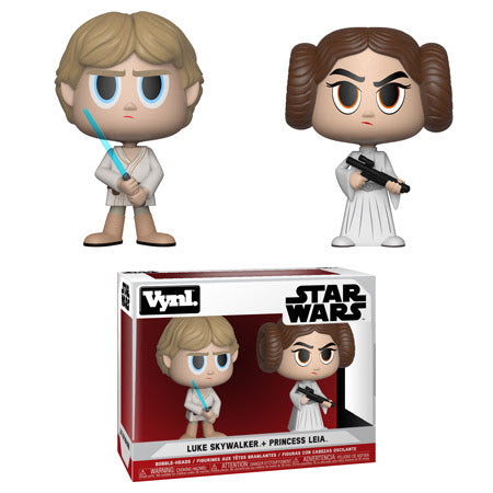 Funko Vynl Star Wars - Princess Leia and Luke Skywalker