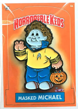 Horrible Kids Masked Michael Enamel Pin