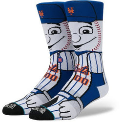 Stance MLB New York Mets Mascot Crew Socks