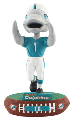 Nfl Miami Dolphins Mascot T D Baller Bobble Nerdy Collectibles