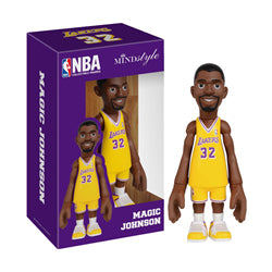 COOLRAIN MINDstyle NBA Legends Los Angeles Lakes Magic Johnson Figure