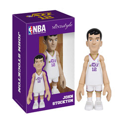 COOLRAIN MINDstyle NBA Legends Utah Jazz John Stockton Figure
