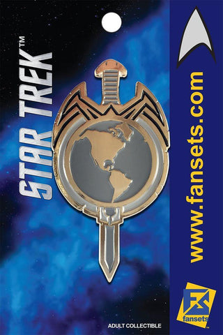 Fansets Star Trek Mirror Sword Insignia Enamel Pin