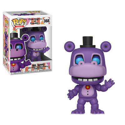 Funko Pop Games Five Nights at Freddy's 6 Pizza Sim - Mr. Hippo