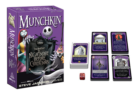 Munchkin:  Dsiney Tim Burton's The Nightmare Before Christmas