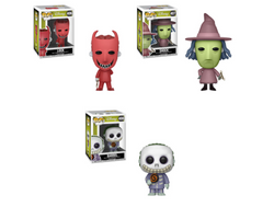 Funko Pop Disney A Nightmare Before Christmas Set of 3