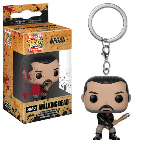 Funko Pop Keychains The Walking Dead Negan