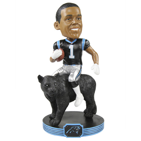 NFL Carolina Panthers Cam Newton Riding Bobblehead
