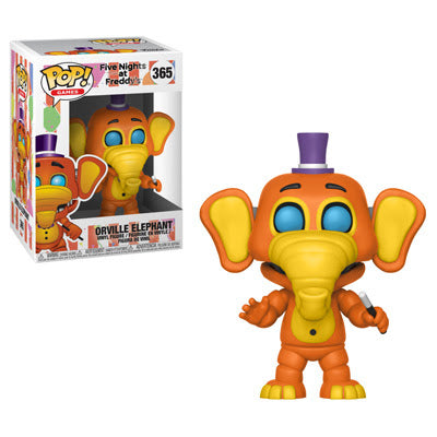 Funko Pop Games Five Nights at Freddy's 6 Pizza Sim - Orville Elephant