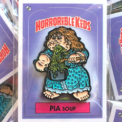 Horrible Kids Pia Soup Enamel Pin