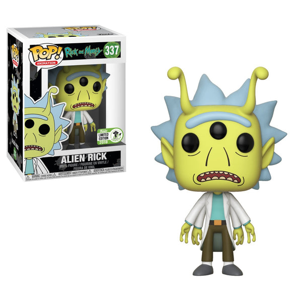 Funko Pop Animation Rick and Morty - Alien Rick