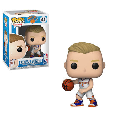 Funko Pop NBA New York Knicks - Kristaps Porzingis