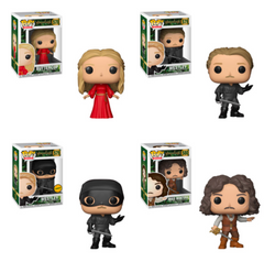 Funko Pop Movies The Princess Bride Set of 4 with Chase
