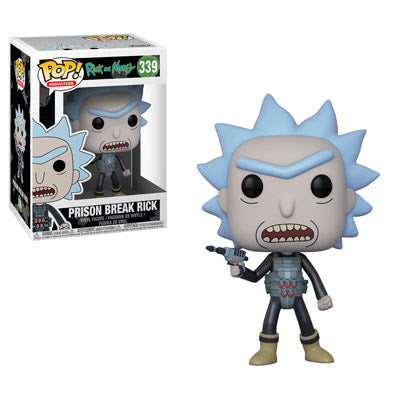 Funko Pop Animation Rick and Morty Prison Break Rick