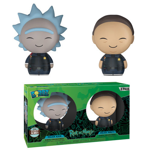 Funko Dorbz Rick and Morty Series 1 - Police Rick and Morty 2-Pack