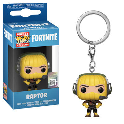 Funko Pocket Pop Keychain Fortnite - Raptor