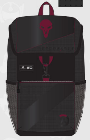 Loungefly for Men Overwatch Reaper Logo Backpack