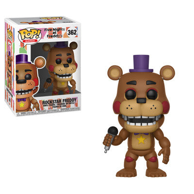 Funko Pop Games Five Nights at Freddy's 6 Pizza Sim - Rockstar Freddy