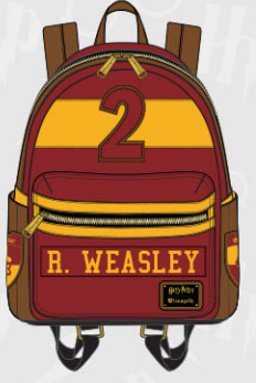 bf183931a0d Loungefly Harry Potter Ron Weasley Mini Backpack – Nerdy Collectibles