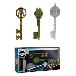 Funko Keys Ready Player One 3-Pack (Green, Clear and Copper)