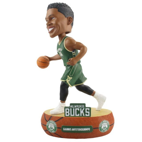 NBA Milwaukee Bucks Giannis Antetokounmpo Baller Bobblehead