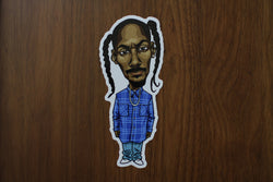 LVRS & MNSTRS Snoop Doggy Dog Chibi Vinyl Sticker