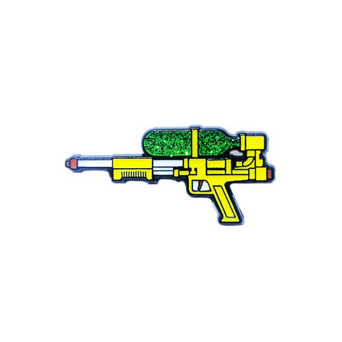 Stupid Krap Glitter Super Soaker Pin