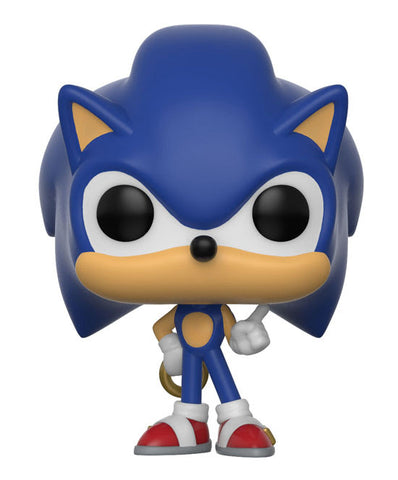 Funko Pop Keychain Games Sonic with Ring