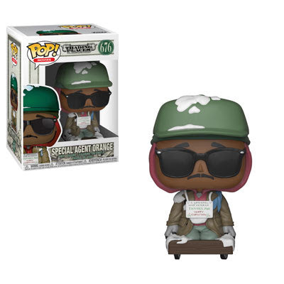 Funko Pop Movies Trading Places - Special Agent Orange