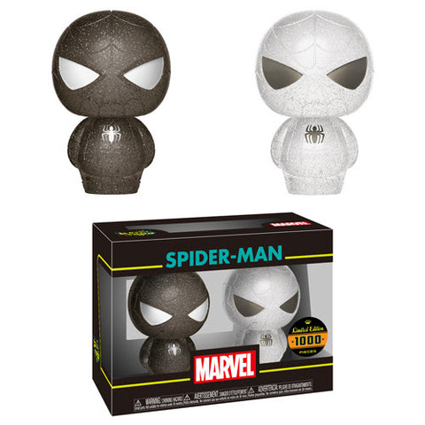 Funko Hikari XS Marvel 2-Pack Spider-Man (Black and White)