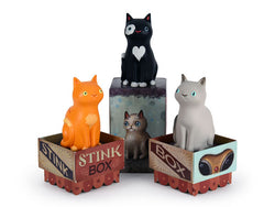 Stink Box Vinyl Cat Figure - Blind Box