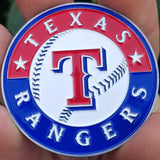 MLB Texas Rangers Coin