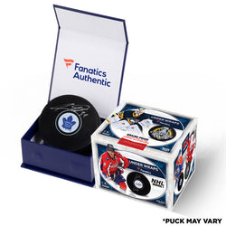 2017-2018 Fanatics Under Wraps NHL Series 1 Sealed Single Hockey Puck Box - Blind Box