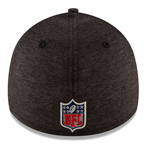 fe72383f3 ... where to buy baltimore ravens new era 2018 nfl sideline road official  39thirty flex hat heather