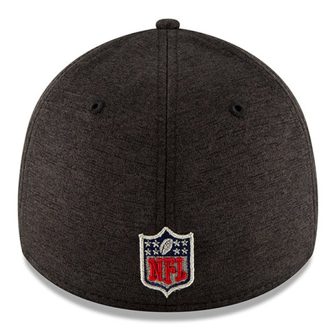 premium selection 34e37 9106b ... New Orleans Saints New Era 2018 NFL Sideline Road Official 39THIRTY  Flex Hat – Heather Gray