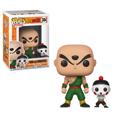 Funko Pop and Buddy Animation Dragon Ball Z Series 4 - Tien with Chiaotzu