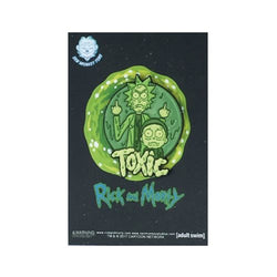 Rick and Morty Toxic Lapel Pin