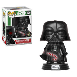Funko Pop Star Wars Holiday - Darth Vader with Candy Cane Set of 2 with Chase
