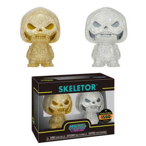 Funko Hikari XS Masters of the Universe Skeletor 2-Pack Gold and Silver