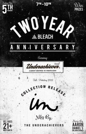 Bleach Two Year Anniversary + Collection Release