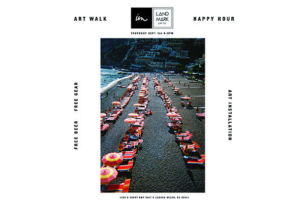 Imperial Motion X Landmark Surf Art Walk Happy Hour