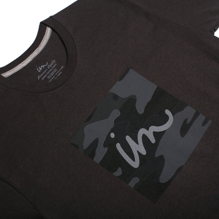 1x1 Camo Premium T-Shirt Charcoal Heather Tri-Blend