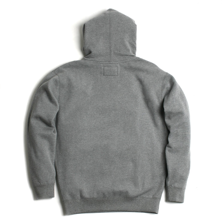 1x1 Heavyweight Hoodie Gunmetal Heather