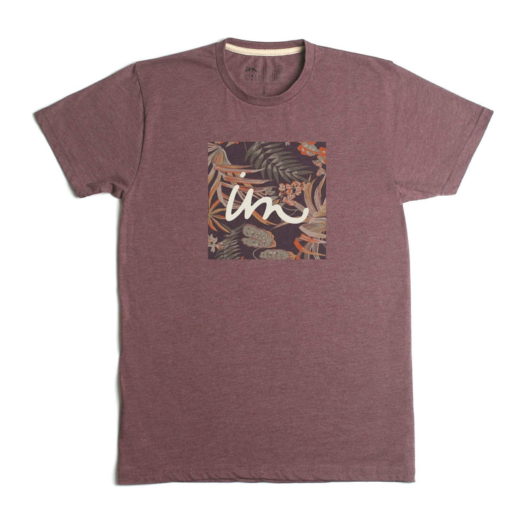 1X1 Jungle Premium T-Shirt Burgundy Heather