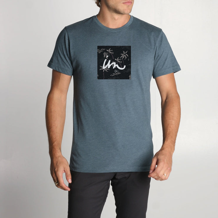 1x1 Premium T-Shirt Indigo Heather
