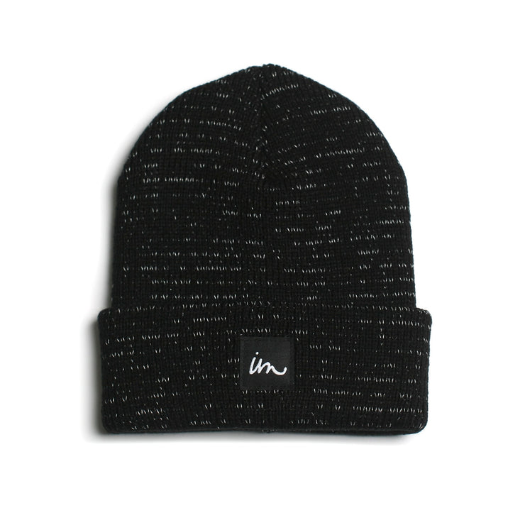 1x1 Reflective Beanie Charcoal Heather