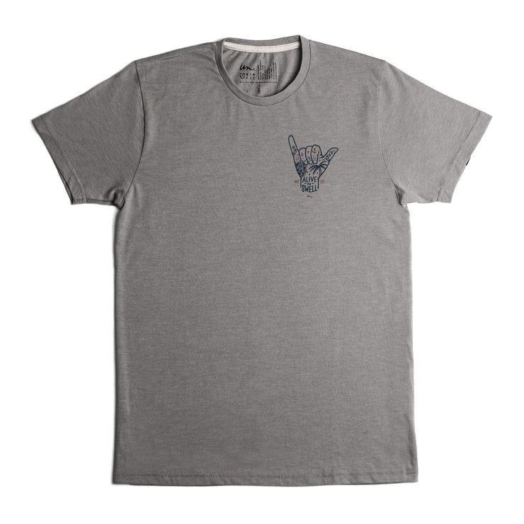 Alive & Swell Premium T-Shirt Grey Heather Tri-Blend