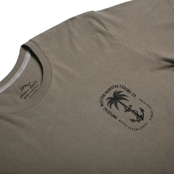 Anchors Up Premium T-Shirt Sage